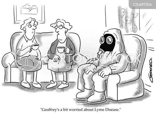 lyme disease cartoon