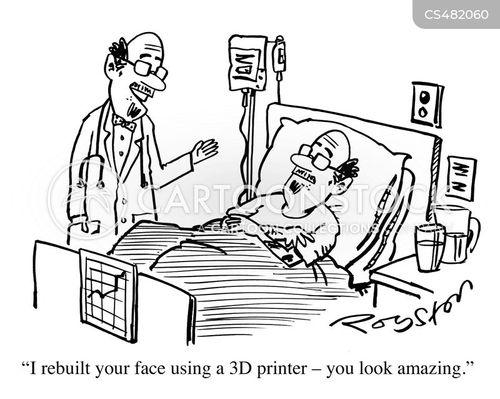 3d-printer cartoon