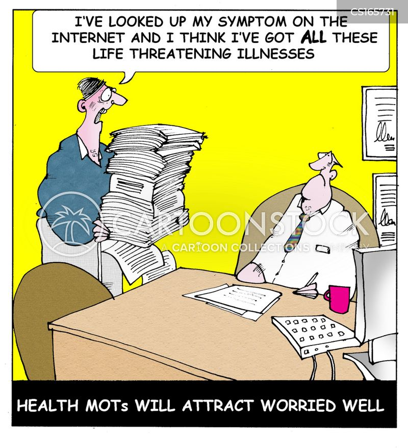 hypochondriac cartoon