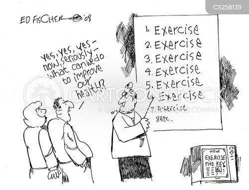 excerise cartoon