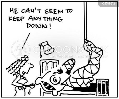 bandaging cartoon