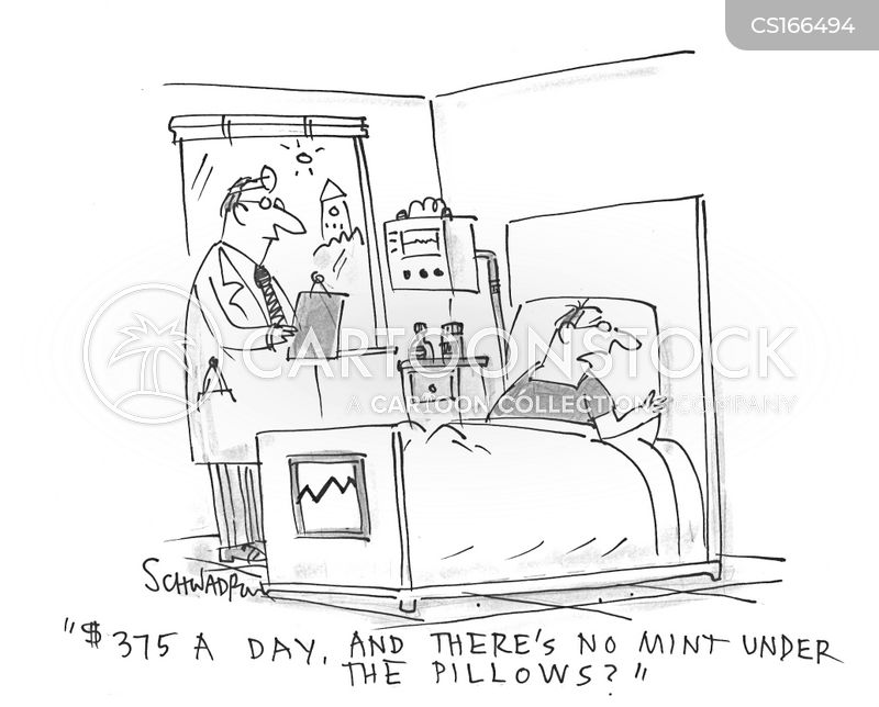 hospital wards cartoon