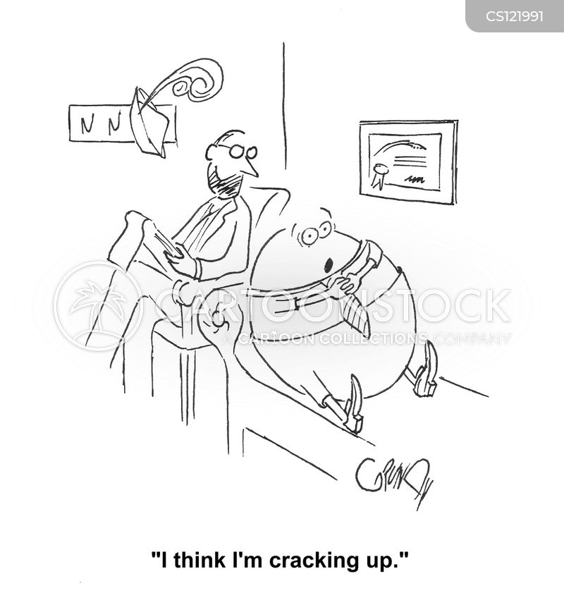 counseling session cartoon