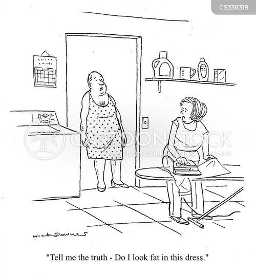 ironed cartoon