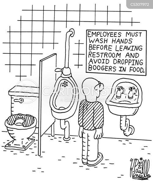 booger cartoon