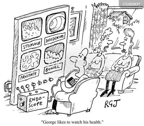 health conscious cartoon