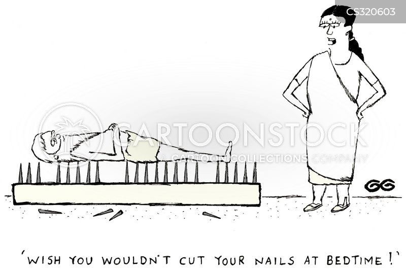 Cutting Nails Cartoons and Comics - funny pictures from