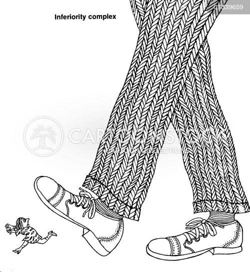 trampled cartoon