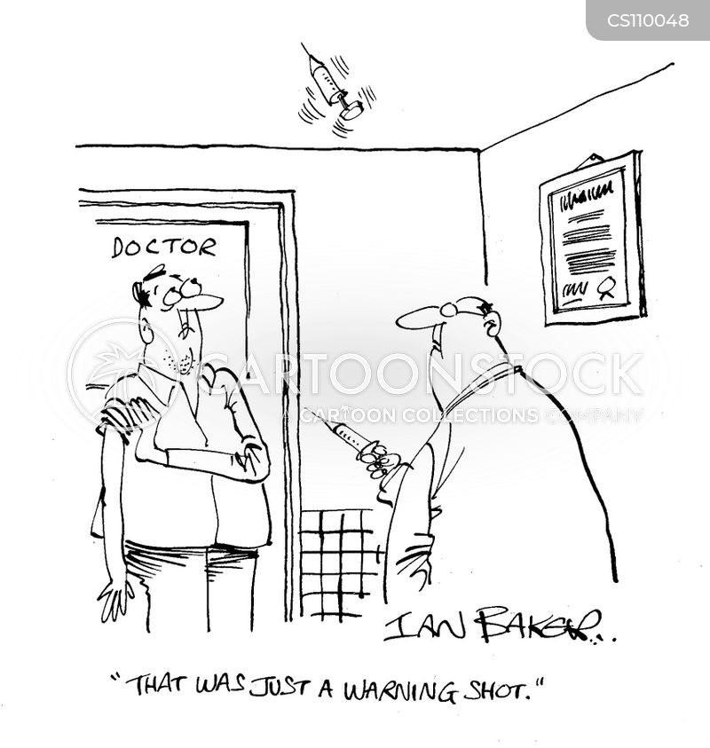 warning shot cartoon