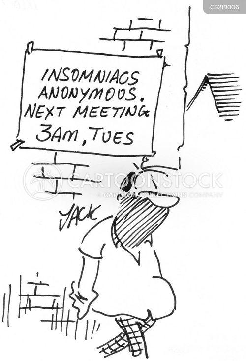 anonymous meeting cartoon