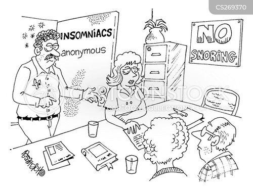 group therapists cartoon