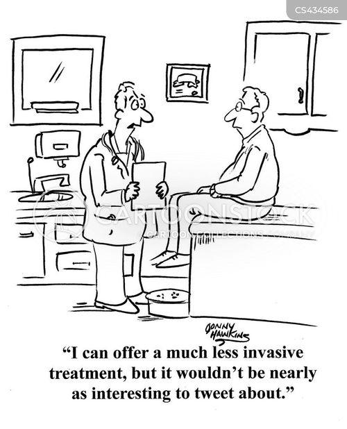 invasive surgery cartoon