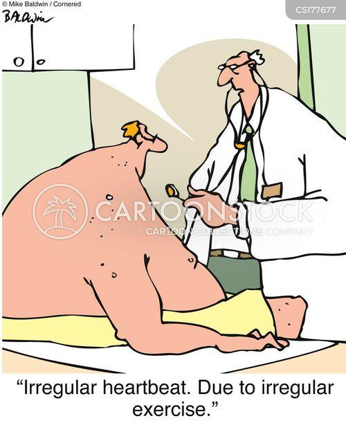 heart disease cartoon