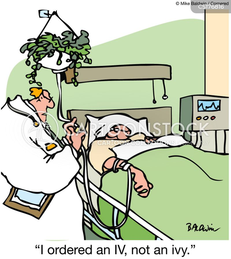 iv drips cartoon