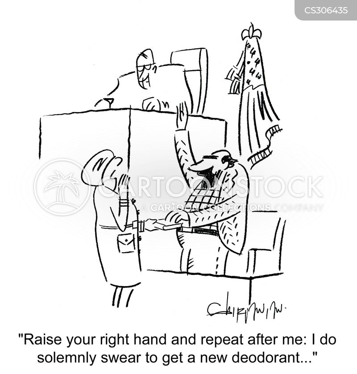 pledging cartoon