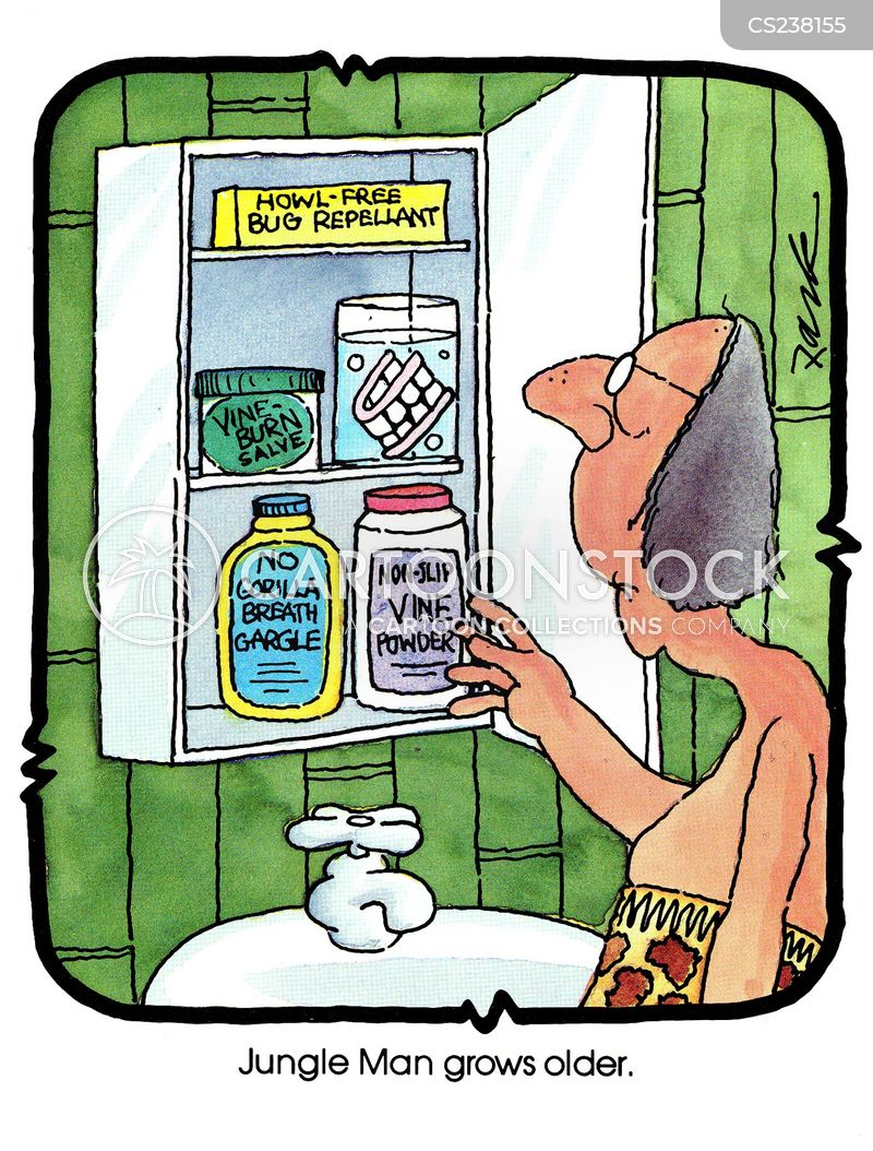 bug repellents cartoon