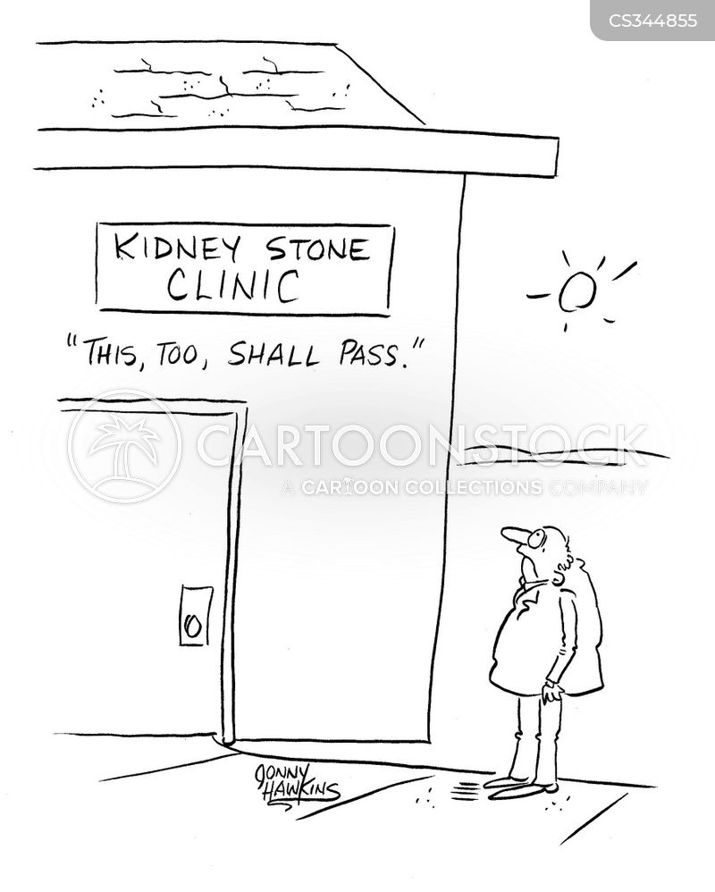 kidney health cartoon