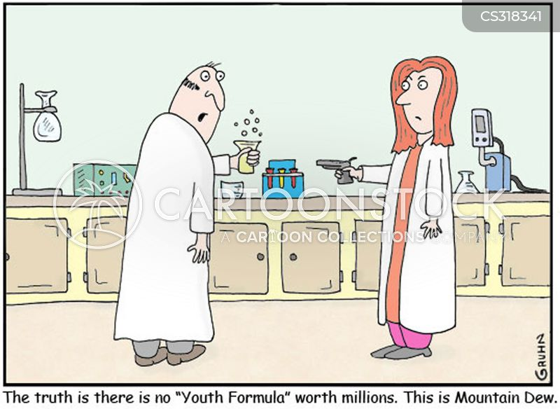 youth formulas cartoon