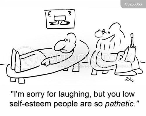 pathetic cartoon