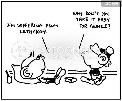 recuperating cartoon