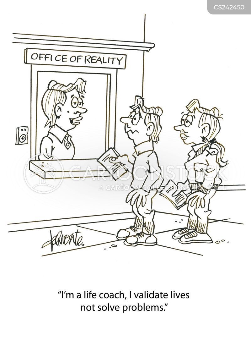 life-coach cartoon