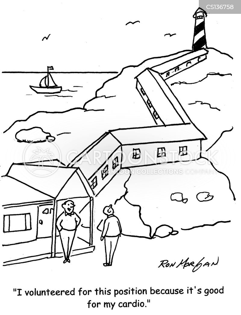 Lighthouse Keepers Cartoons And Comics Funny Pictures
