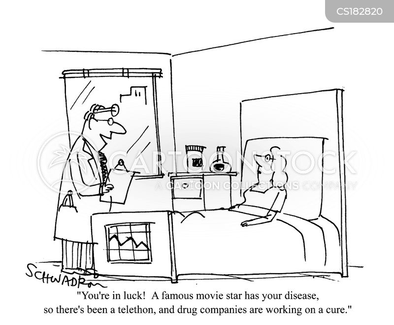 drugs company cartoon