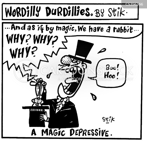manic depressives cartoon