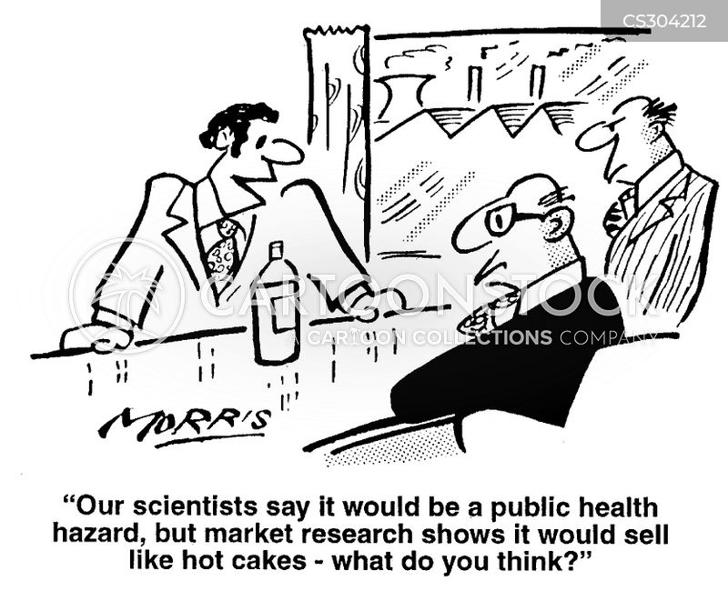 market researcher cartoon