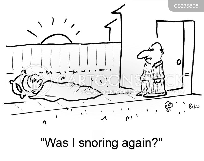 Image result for snoring cartoons