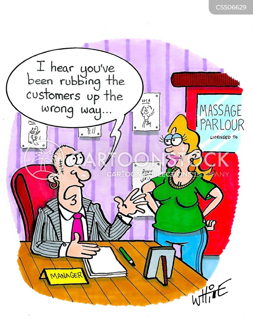 massage parlour cartoon
