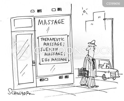 ego massages cartoon