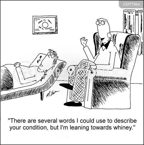 whining cartoon