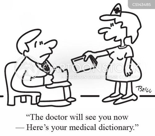 medical language cartoon