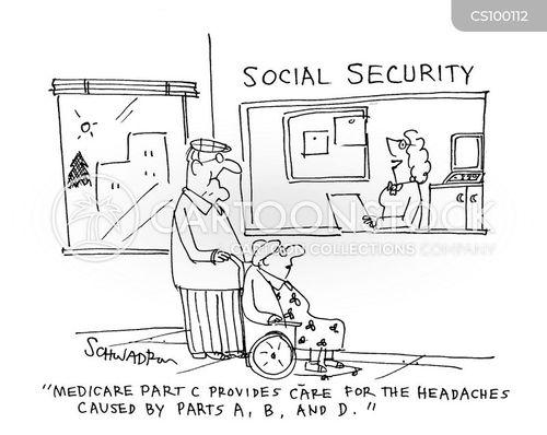social security cartoon