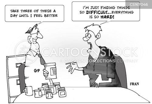 anti-depressants cartoon