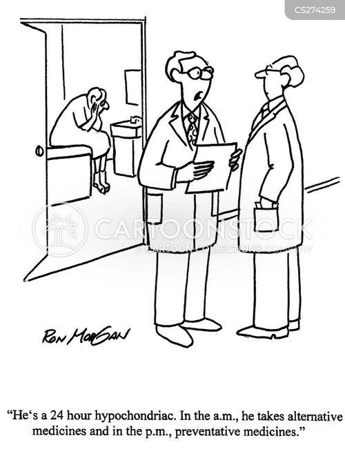 preventative medicines cartoon