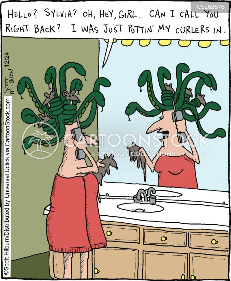 medusa cartoon