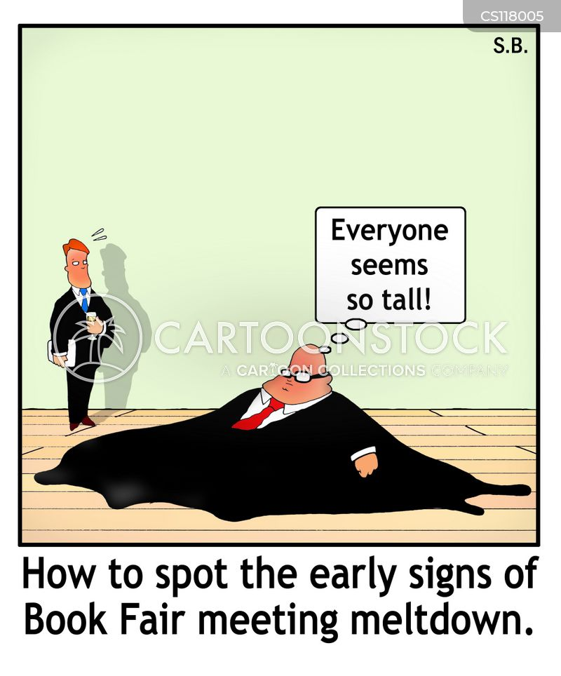 early sign cartoon