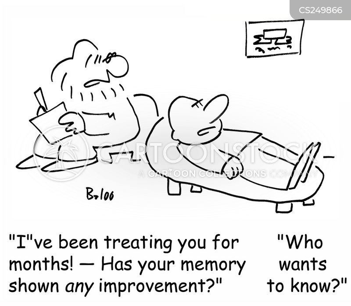 good memory cartoon