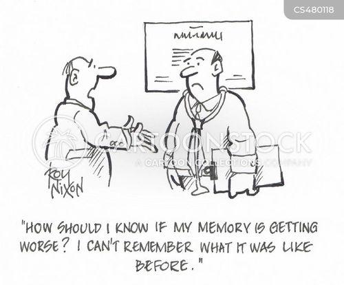 recollection cartoon