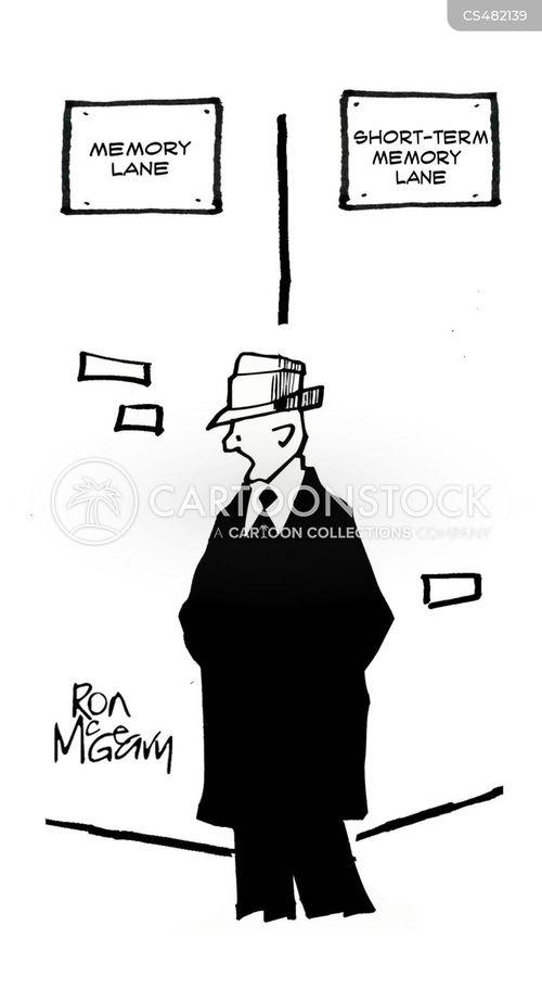 long term memory cartoon