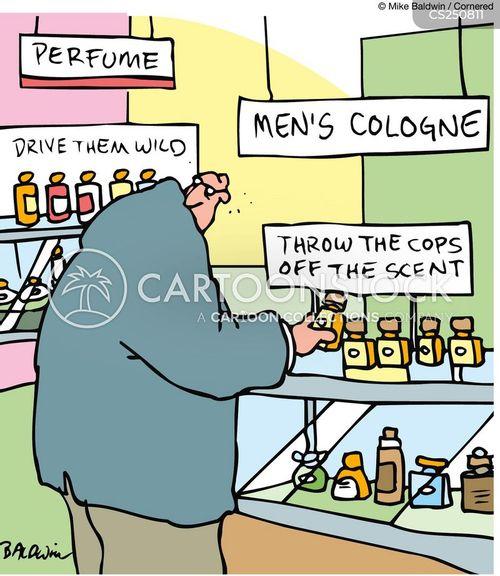 why men buy cologne cartoon