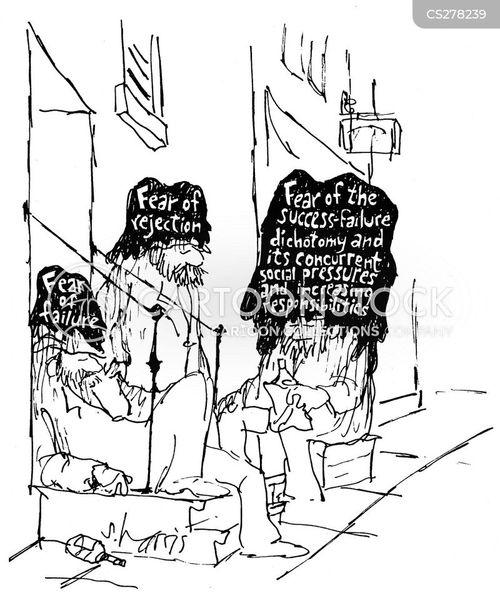social pressure cartoon