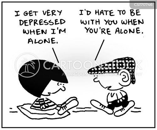 mental illnesses cartoon