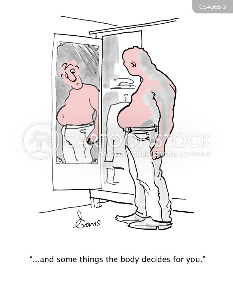 muscle tone cartoon