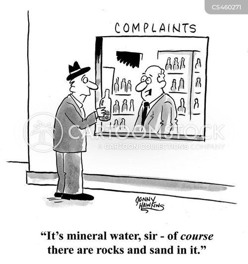 minerals cartoon