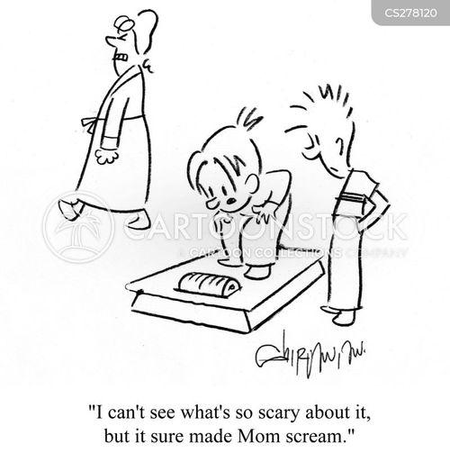 over-weight cartoon