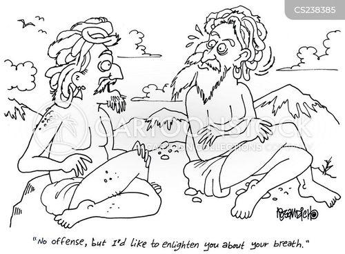 spiritual advise cartoon