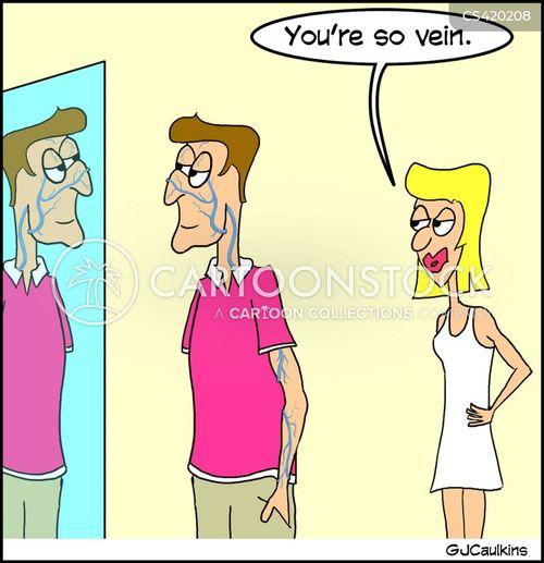 veins cartoon